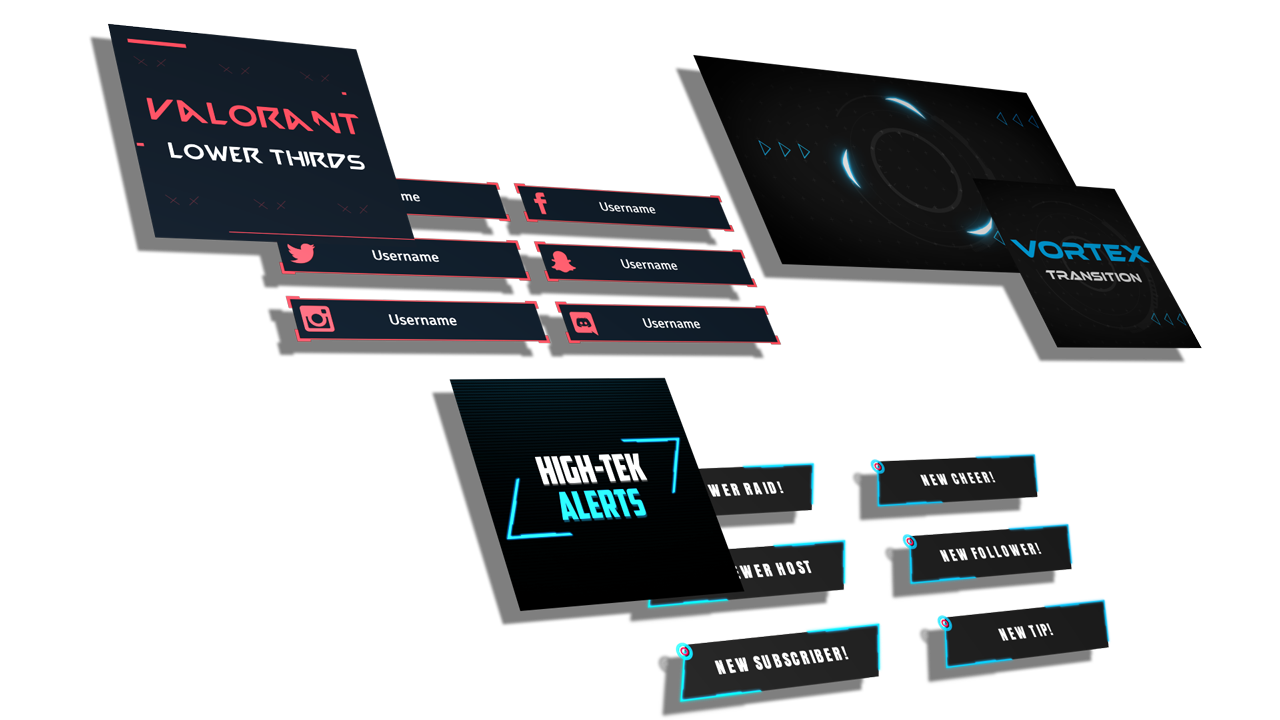 selection of free streaming designs