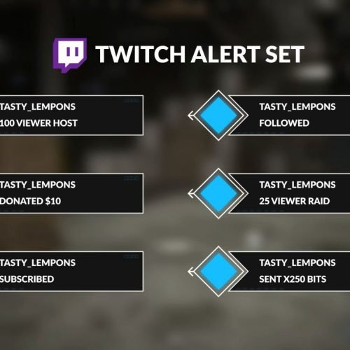 call of duty twitch alerts set