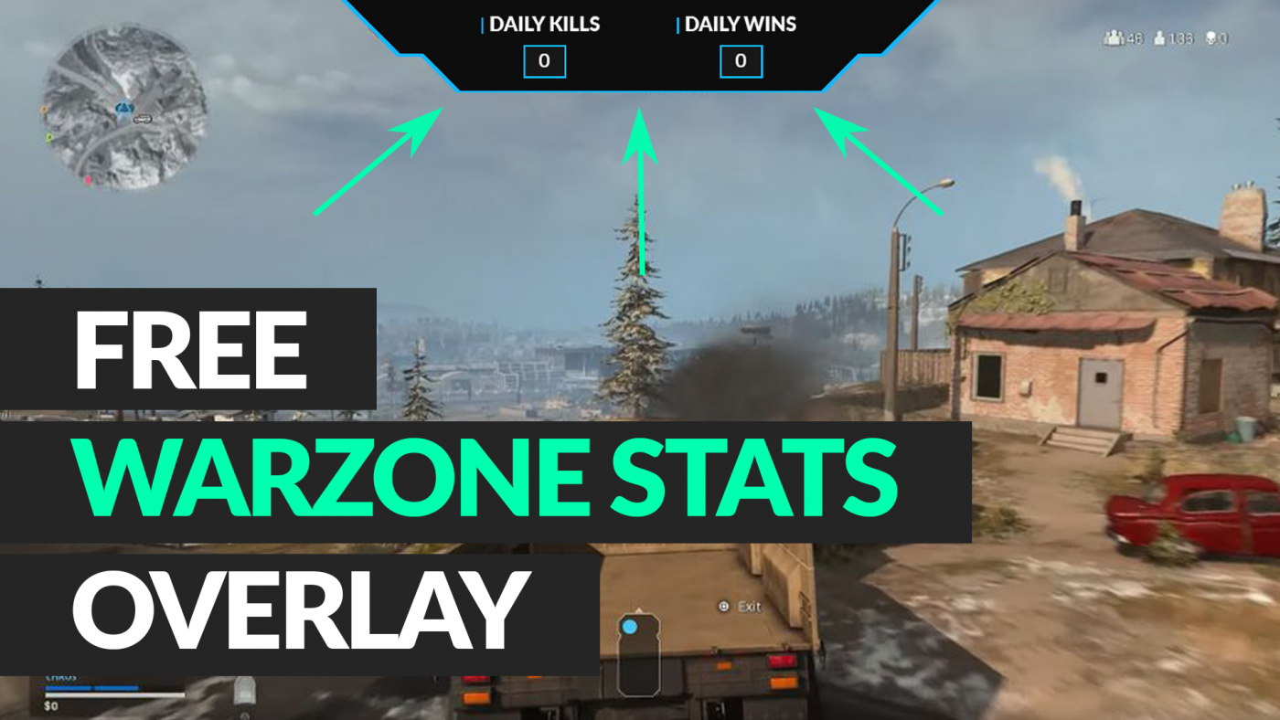 free warzone stats overlay