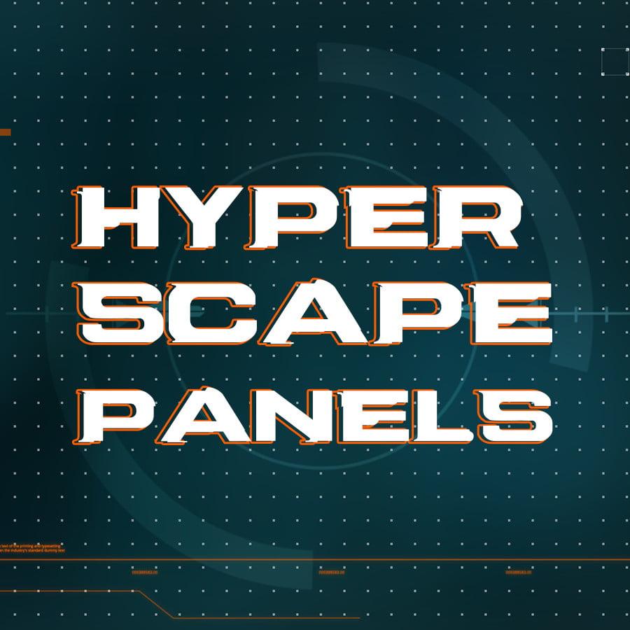 hyper scape twitch panels