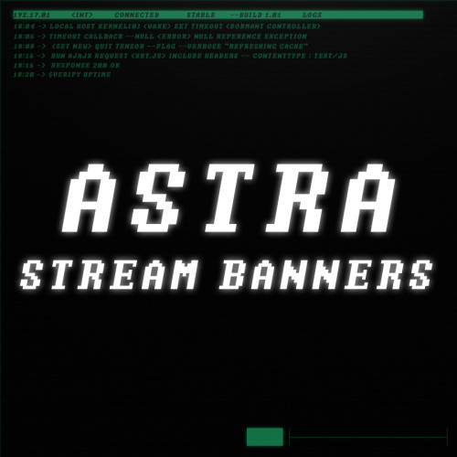 astra stream banners