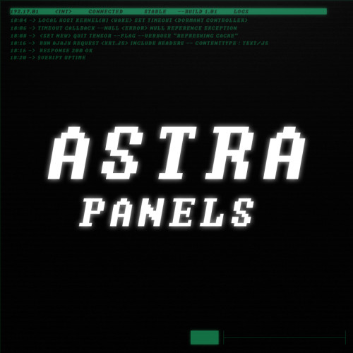 astra twitch panels