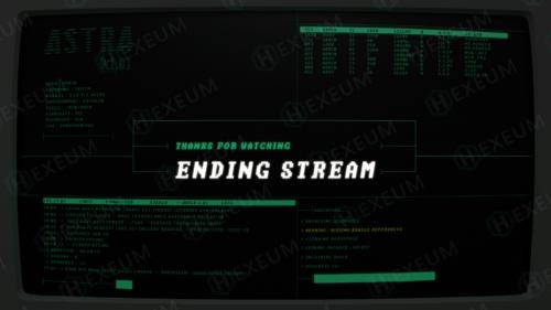 hacker twitch ending screen