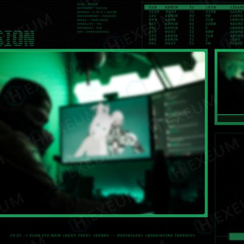 hacker intermission screen