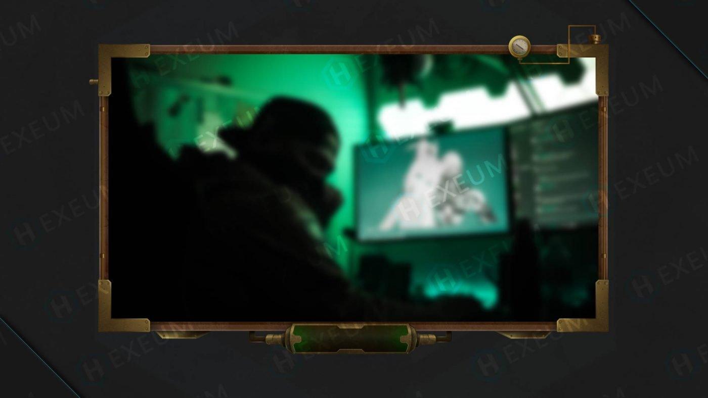 steampunk twitch webcam