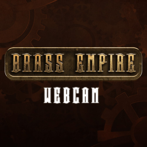 steampunk webcam overlay