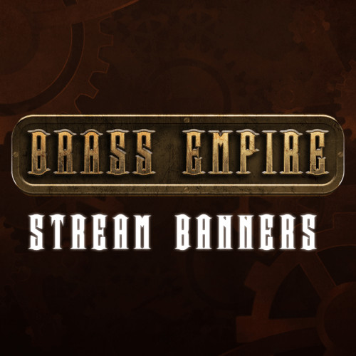 steampunk stream banners