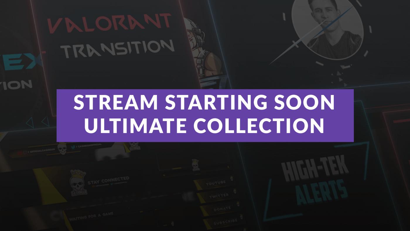 stream starting soon banner