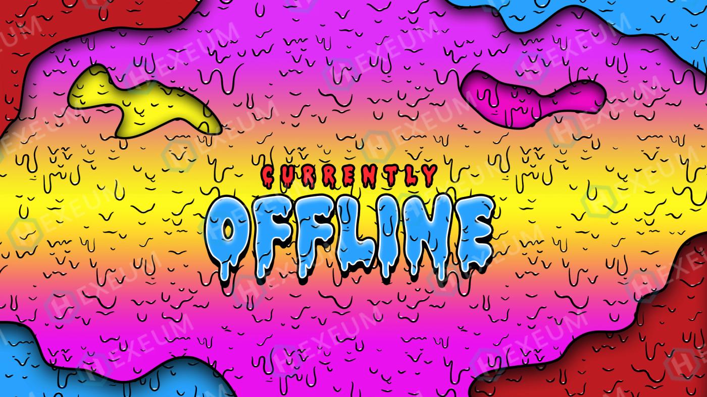grime twitch offline banner
