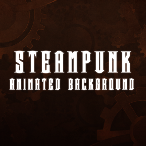 steampunk animated background