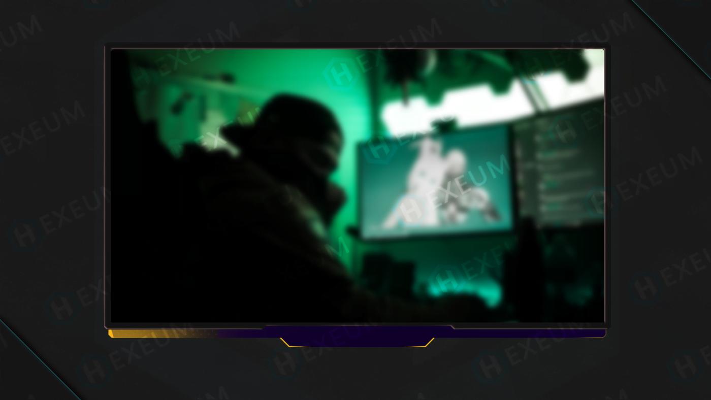 purple webcam overlay