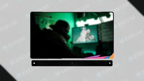 multicolor webcam overlay
