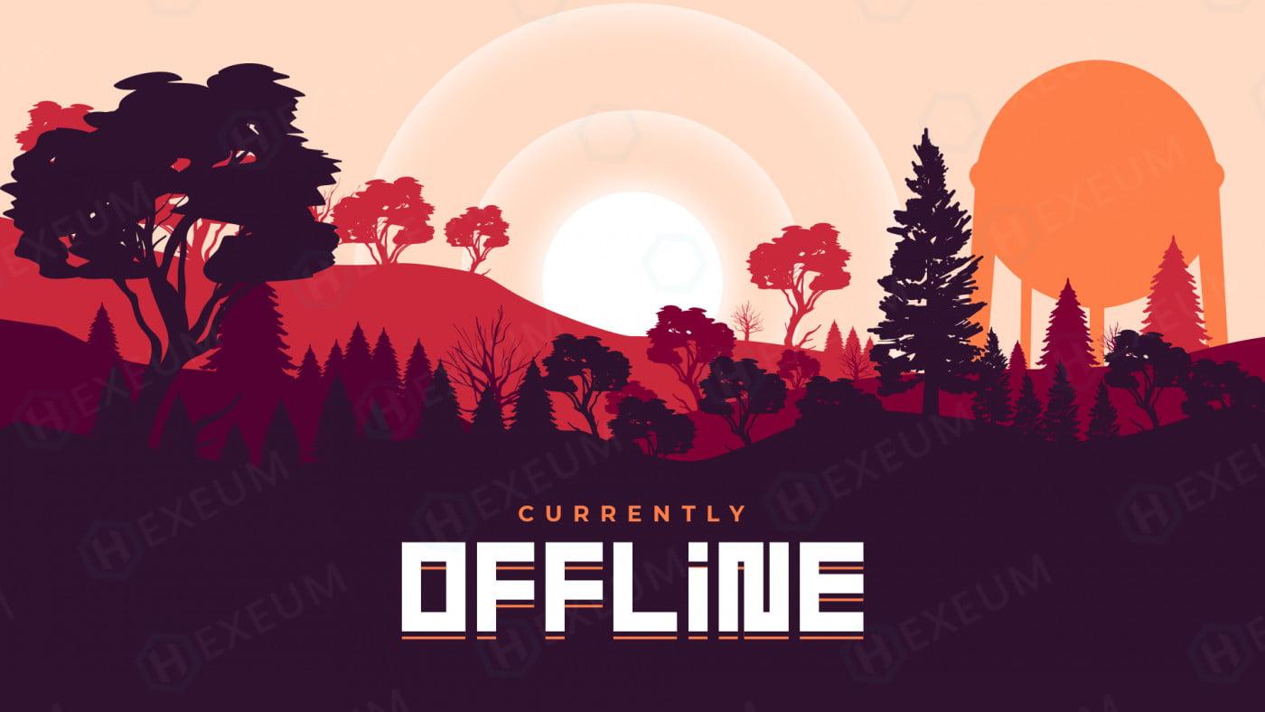 rust twitch offline banner