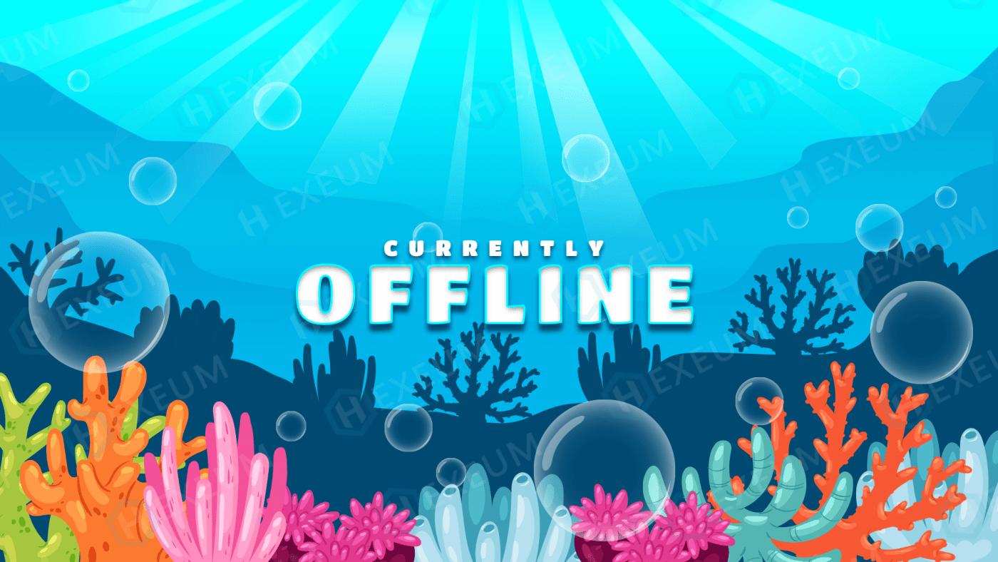 underwater twitch offline banner