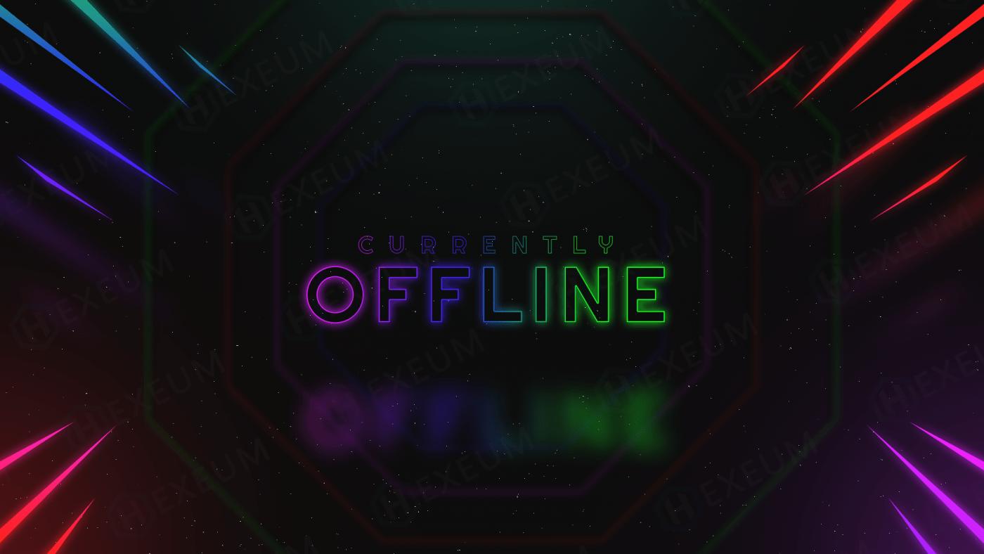 space twitch offline banner