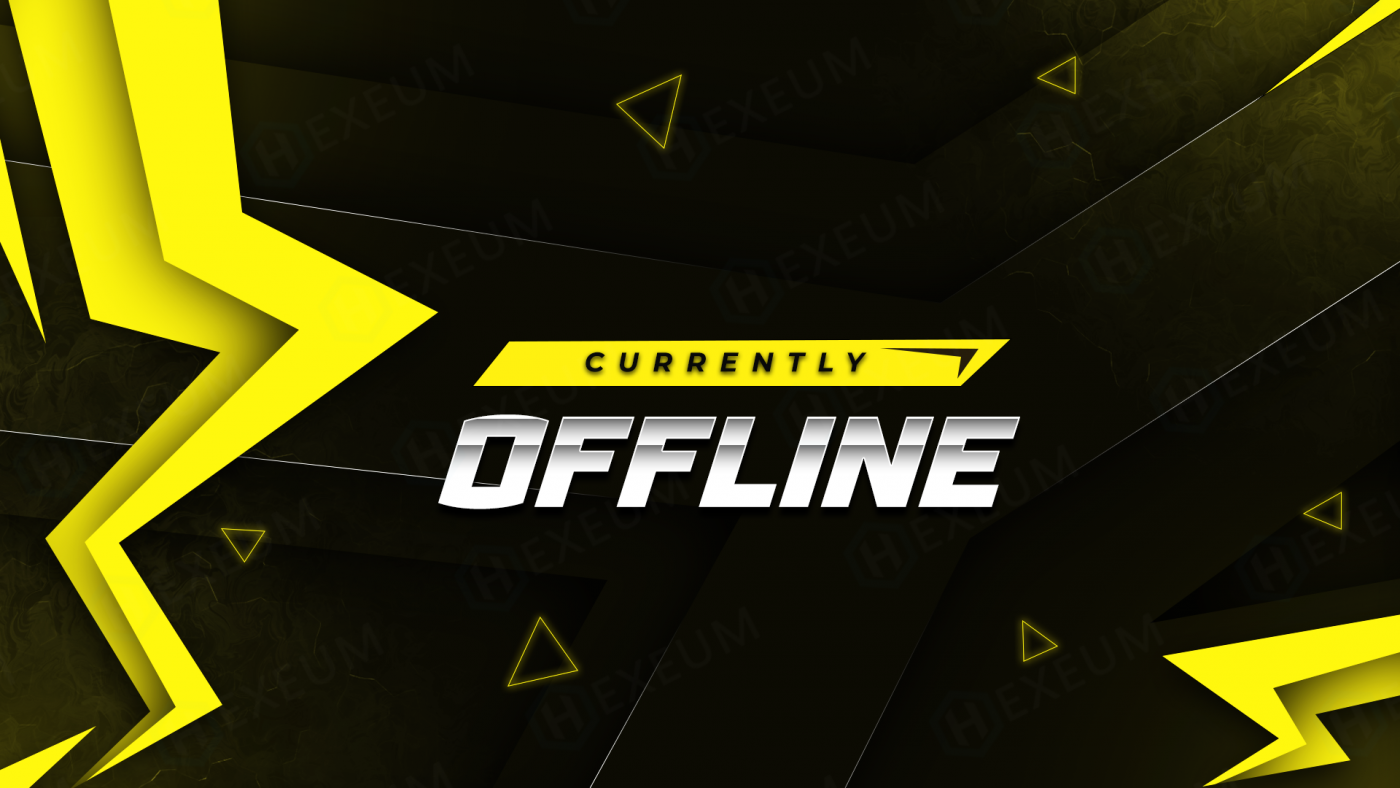 electric twitch offline banner