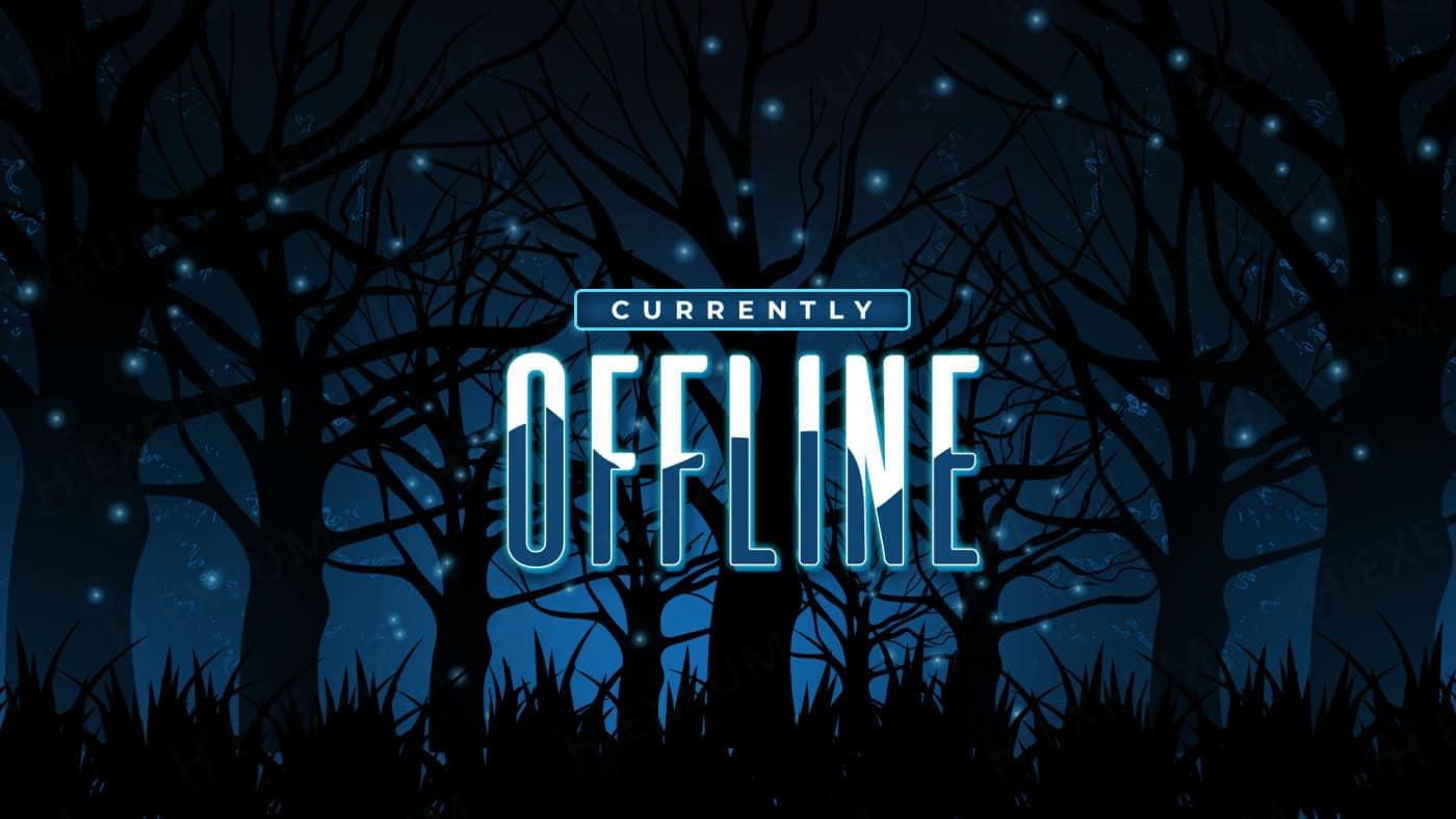 fantasy forest twitch offline banner