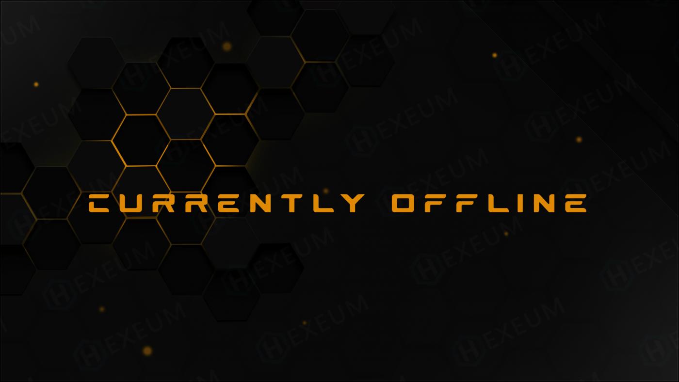 hexagon twitch offline banner