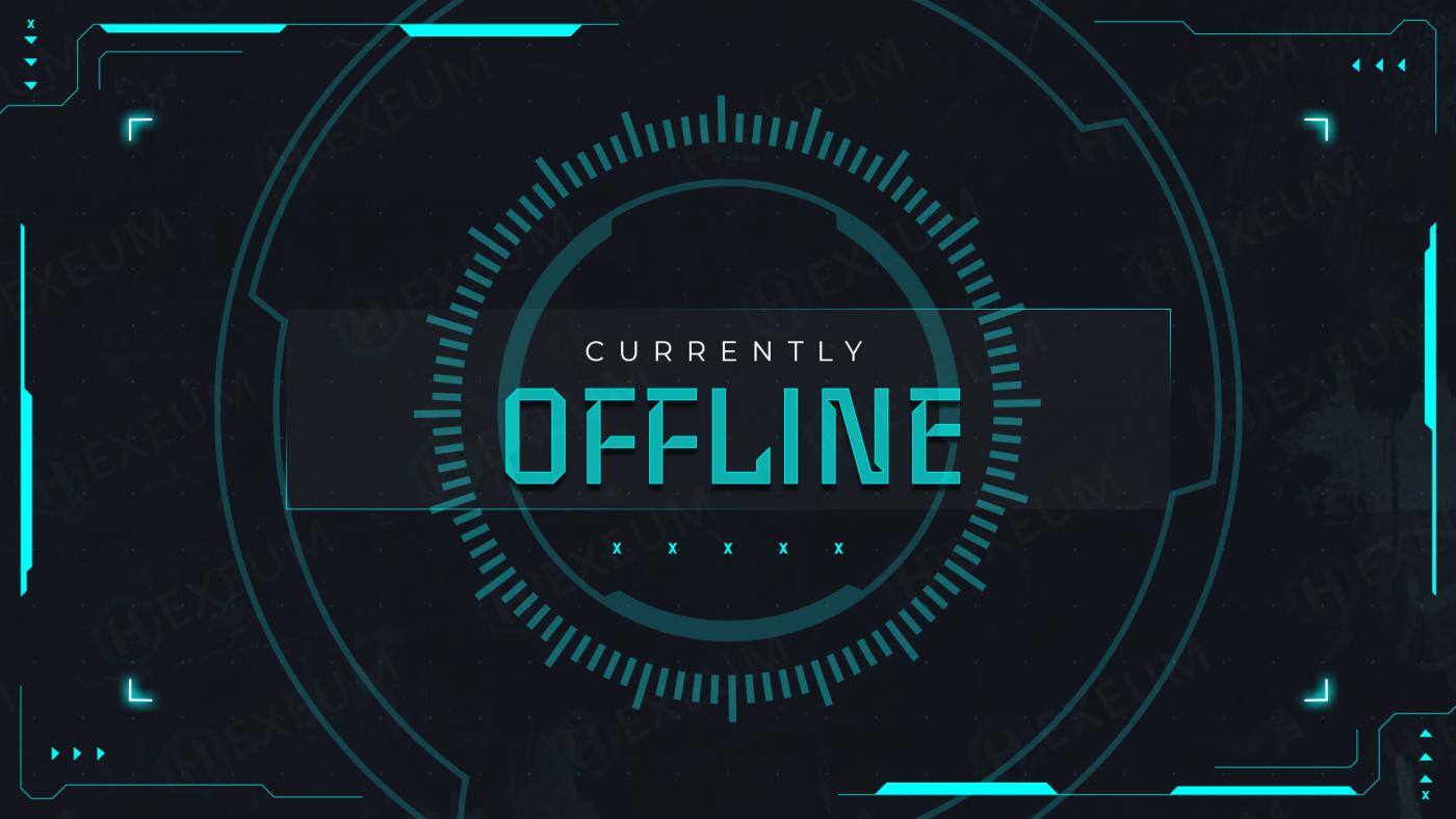scifi twitch offline banner