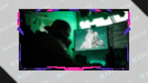 pixel webcam overlay