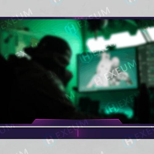scifi webcam overlay