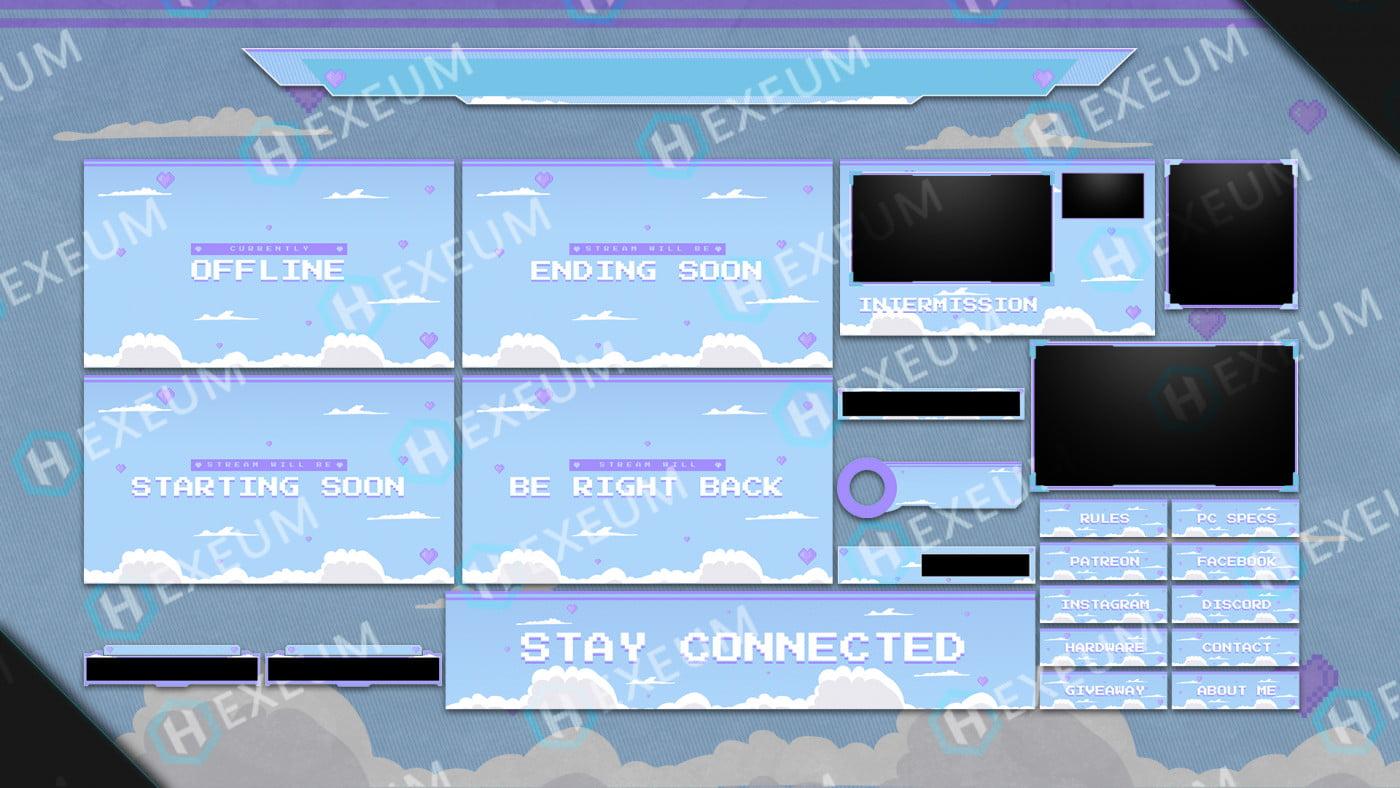 pixel twitch overlay