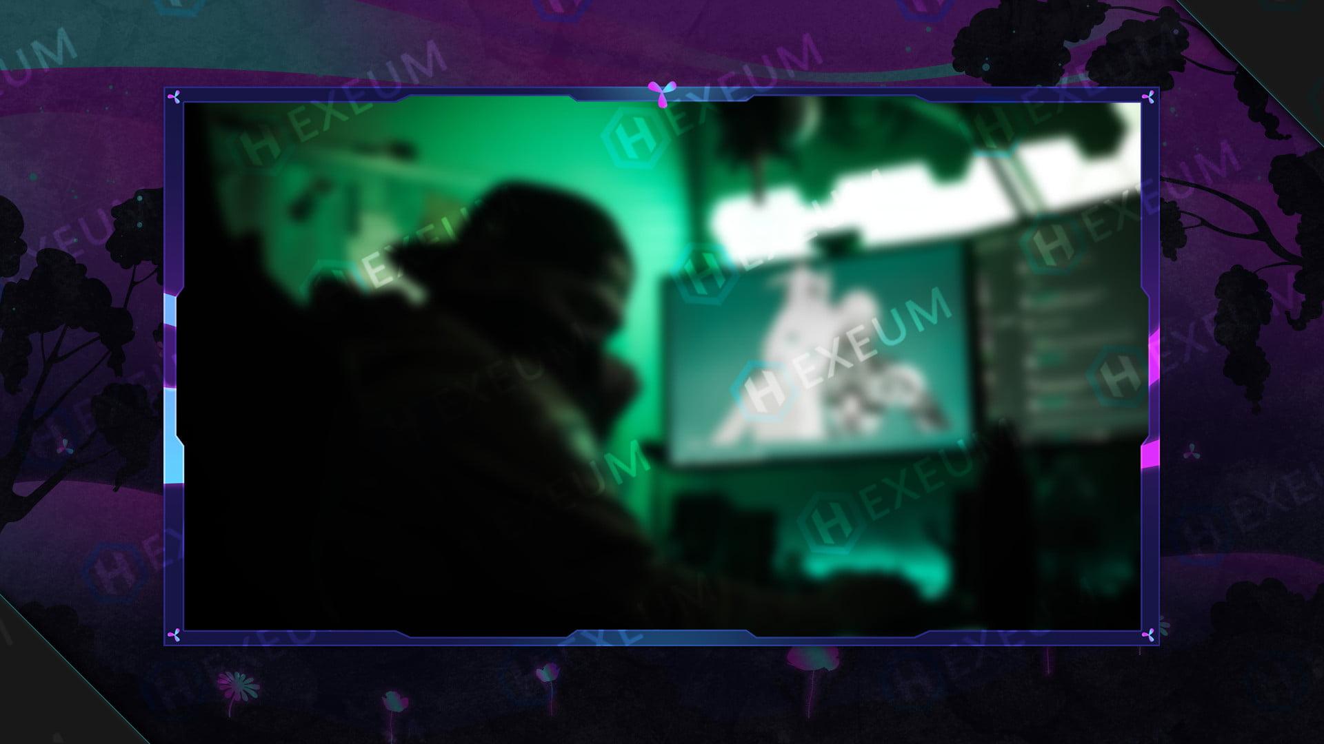 fantasy webcam overlay