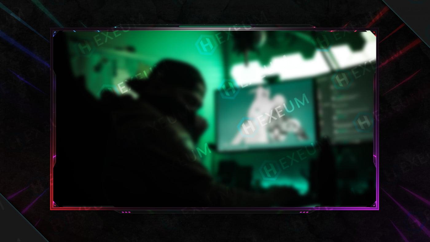 space webcam overlay