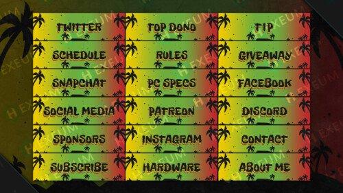 reggae twitch panels