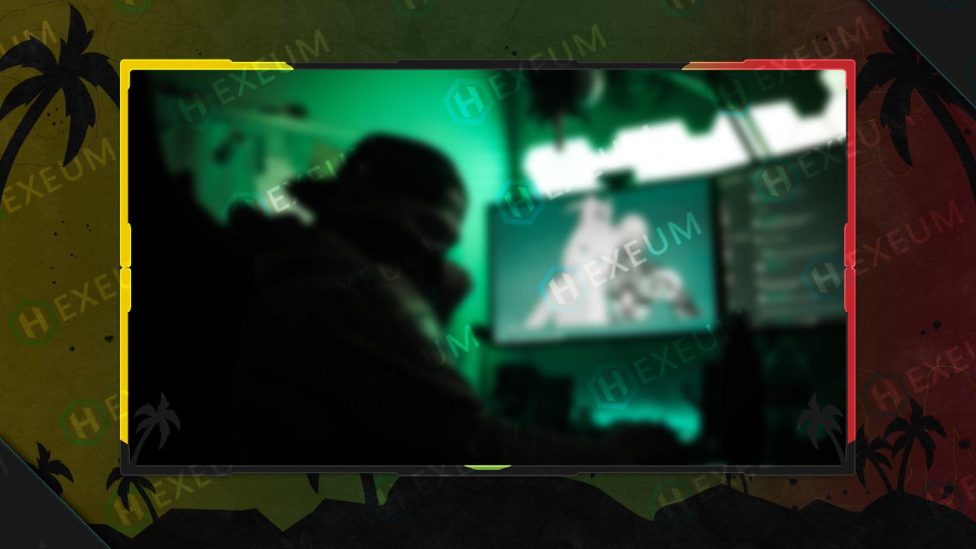 reggae webcam overlay