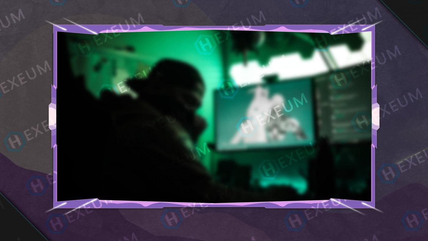 twitch pixel webcam overlay