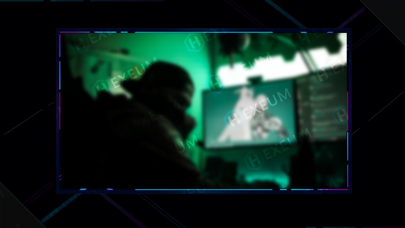 simple webcam overlay