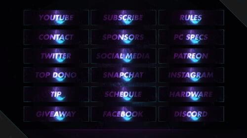particle twitch panels