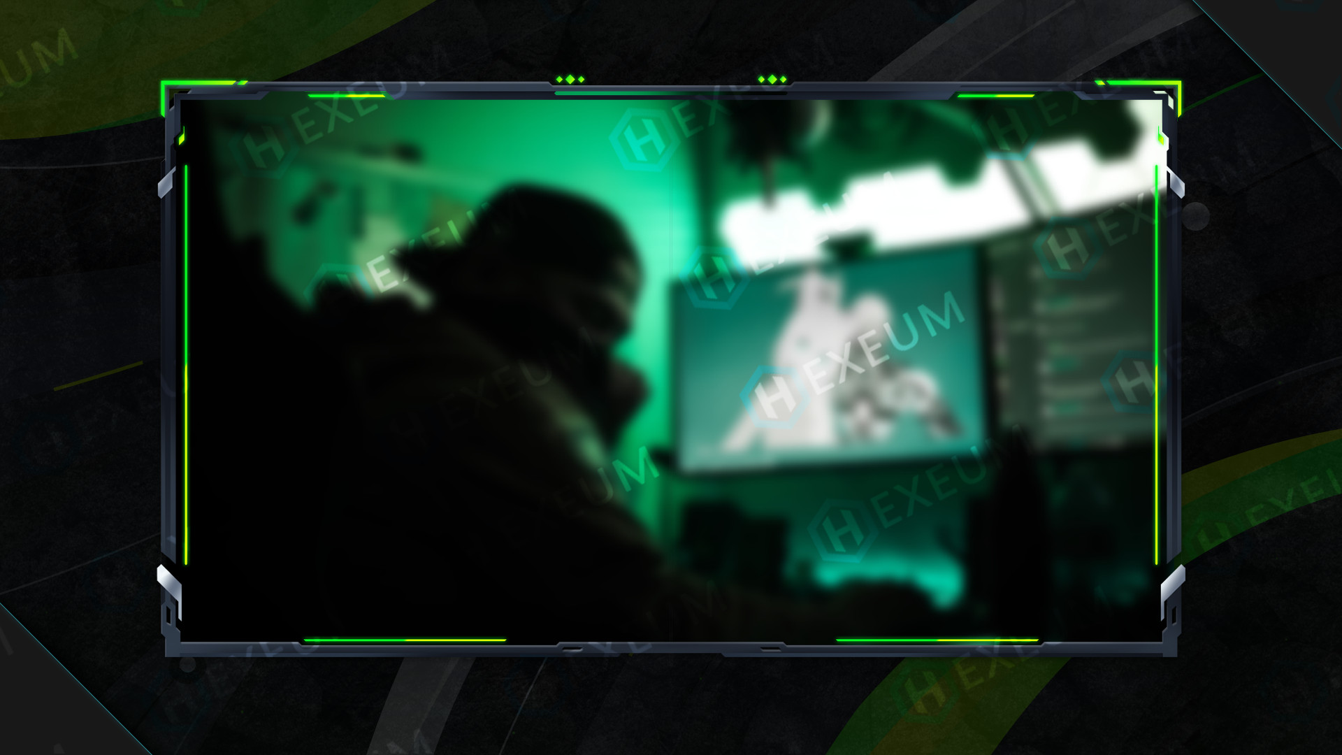 Clean Webcam Overlay