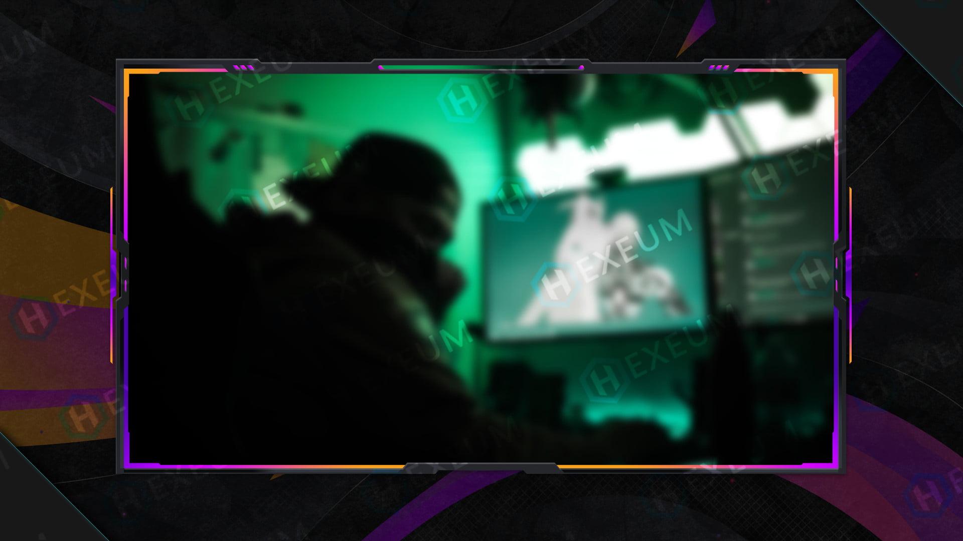 Striking Webcam Overlay