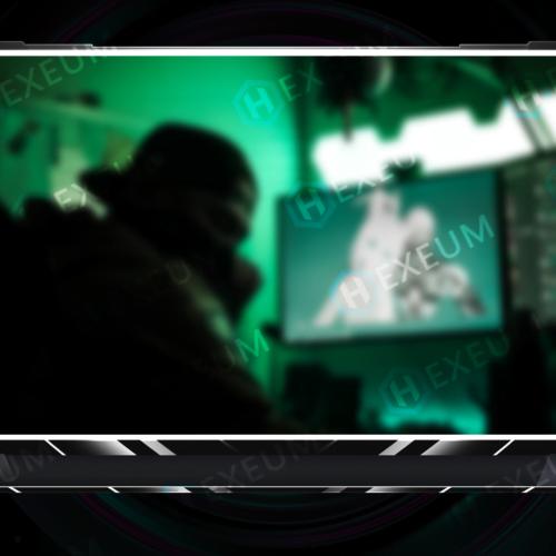 Minimalist Webcam Overlay