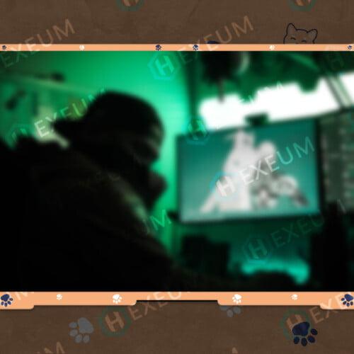 Dog Webcam Overlay