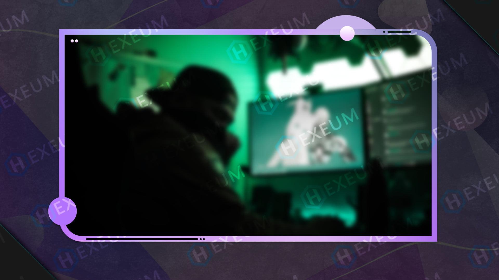 Dreamy Pink Webcam Overlay