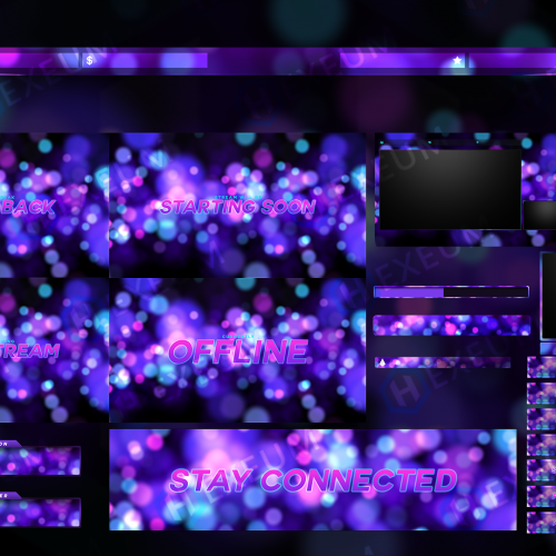 Ethereal Twitch Overlay