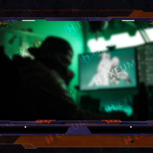 Japanese Webcam Overlay