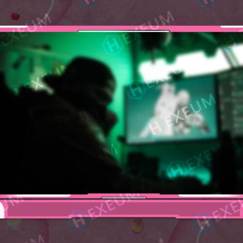 Dessert Webcam Overlay