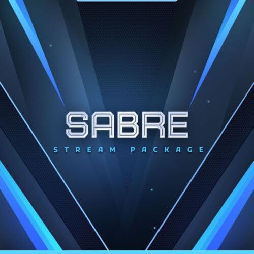 Sabre Blue Stream Overlay Thumbnail
