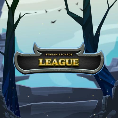 League Stream Overlay Thumbnail