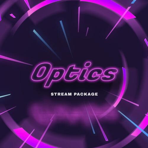 Optics Neon Stream Overlay Thumbnail