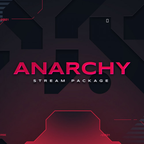 Anarchy Tech Stream Overlay Thumbnail