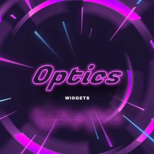 Optics Neon Streamlabs Widgets Thumbnail