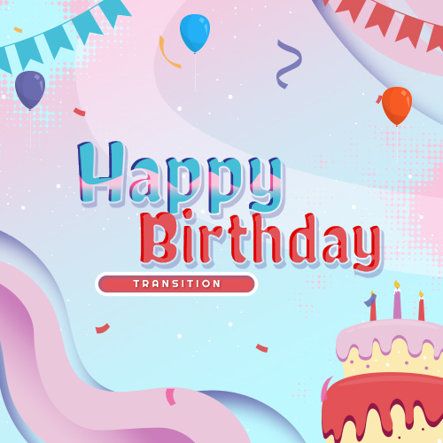 Happy Birthday Stream Transition Thumbnail
