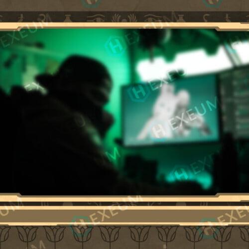 Egyptian Webcam Overlay