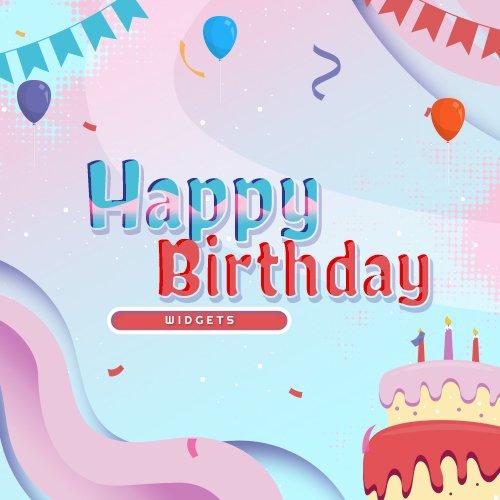 Happy Birthday Streamlabs Widgets
