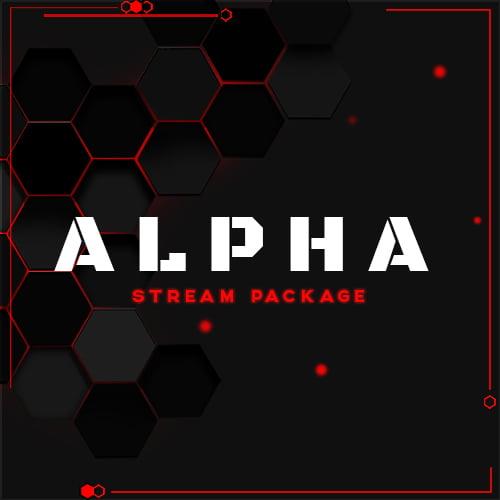 Alpha Red Stream Overlay Thumbnail